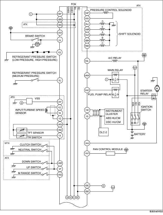 control system wiring diagram  zj  z6