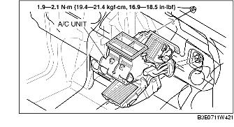 Service manual  1996    Mazda    Millenia How To Remove